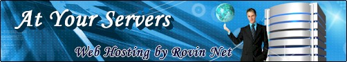 At Your Servers - Discount Cloud Cluster Web Hosting Powered by Rovin Net